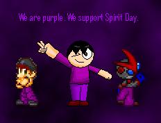 TuffTony - dA Spirit Day by TuffTony