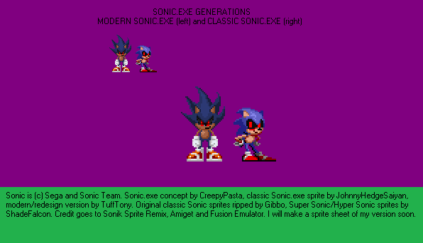 Sonic Exe Generations – Billy Knight