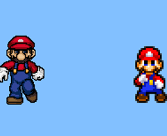 Mario's MUGEN Win Pose MLSS Style Preview by TuffTony