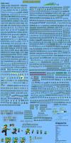 Luigi - Ultimate Sprite Sheet by TuffTony