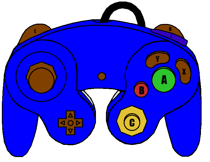 gamecube controller smg4 edition by tufftony on deviantart