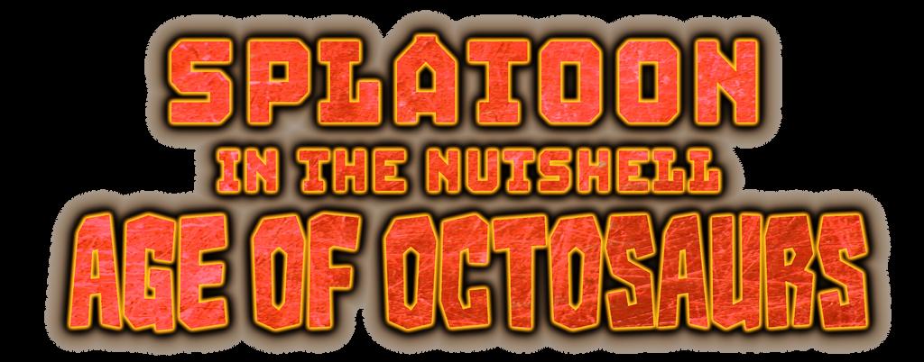 Splatoon in the Nutshell: Age of Octosaurs - Logo