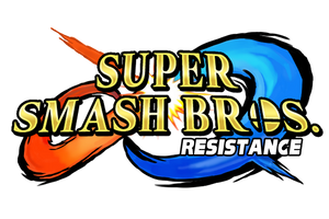 Super Smash Bros. Resistance - Official Logo by TuffTony