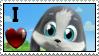 I love Schnuffel Stamp by SchnuffelKuschel