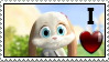 I love Schnuffelienchen Stamp by SchnuffelKuschel