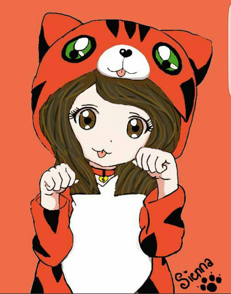 Digital Drawing For Sienna  by xxhazelmoonxx