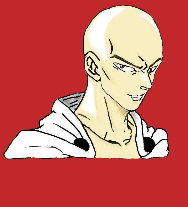 Saitama Fan Art by xxhazelmoonxx