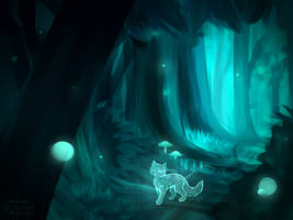 Bluestar: May StarClan light your path ... by KatzenKakaNav-YBlah