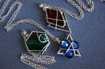 Legend of Zelda- Spiritual Stone Pendants
