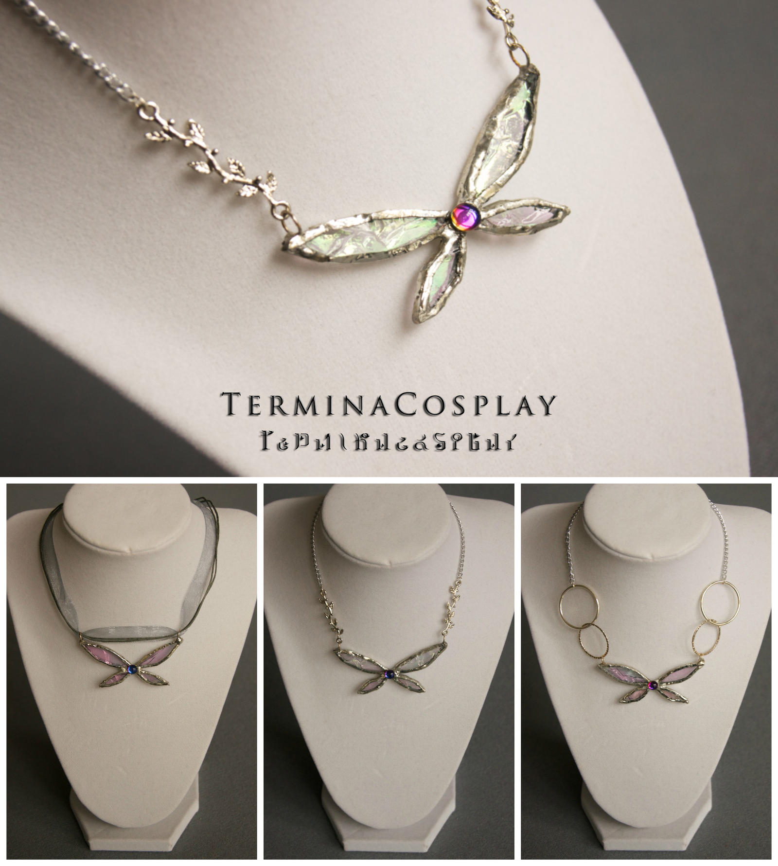 Legend of zelda inspired fairy necklace by terminacosplay on deviantart legend of zelda inspired fairy necklace by terminacosplay aloadofball Image collections