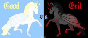 Good vs. Evil by SaraChristensen