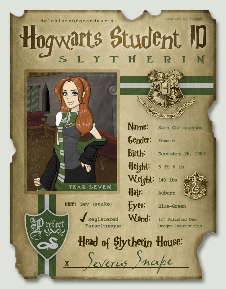 my hogwarts id by sarachristensen on deviantart