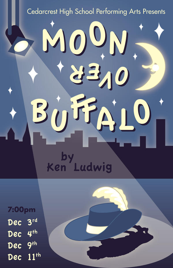 """a review of moon over buffalo In ken ludwig's mild new farce, """"moon over buffalo,"""" they are not, and do not nearly every arrow falls short of the mark."""
