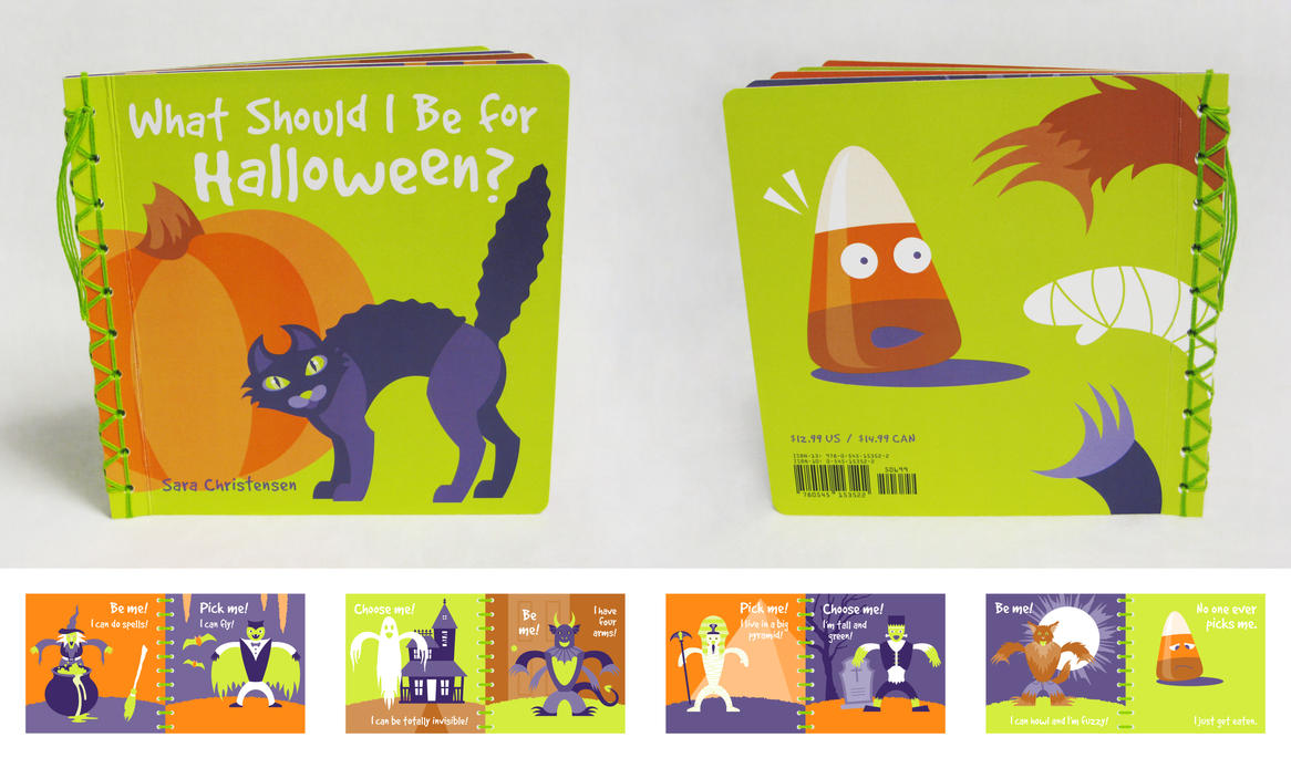 Halloween Children's Book by SaraChristensen