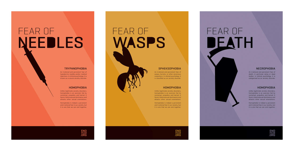 EndFear Poster Series by SaraChristensen