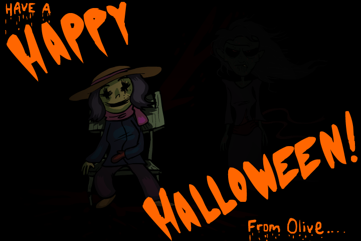 Happy Halloween from Olive by AnimatEd ...