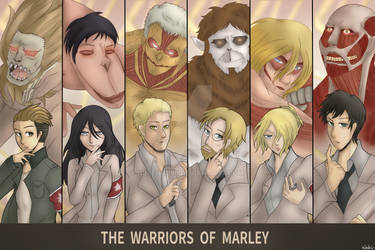 The Warriors of Marley - Attack on Titan
