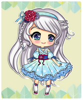 : Adopt : #08 Sweet Flower Girl RE-OPEN by ichiipanpan