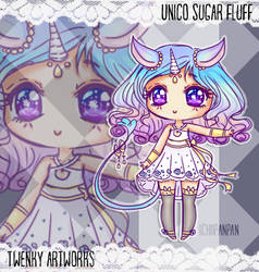 Adopt: Unico Sugar Fluff -CLOSED- by ichiipanpan