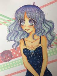 Purple Girl *Cute Eye's*
