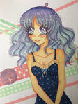 Purple Girl *Cute Eye's* by ichiipanpan