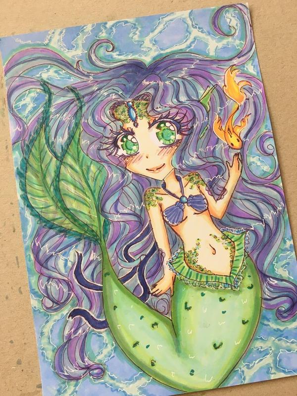 Little Mermaid _ Chibi by ichiipanpan