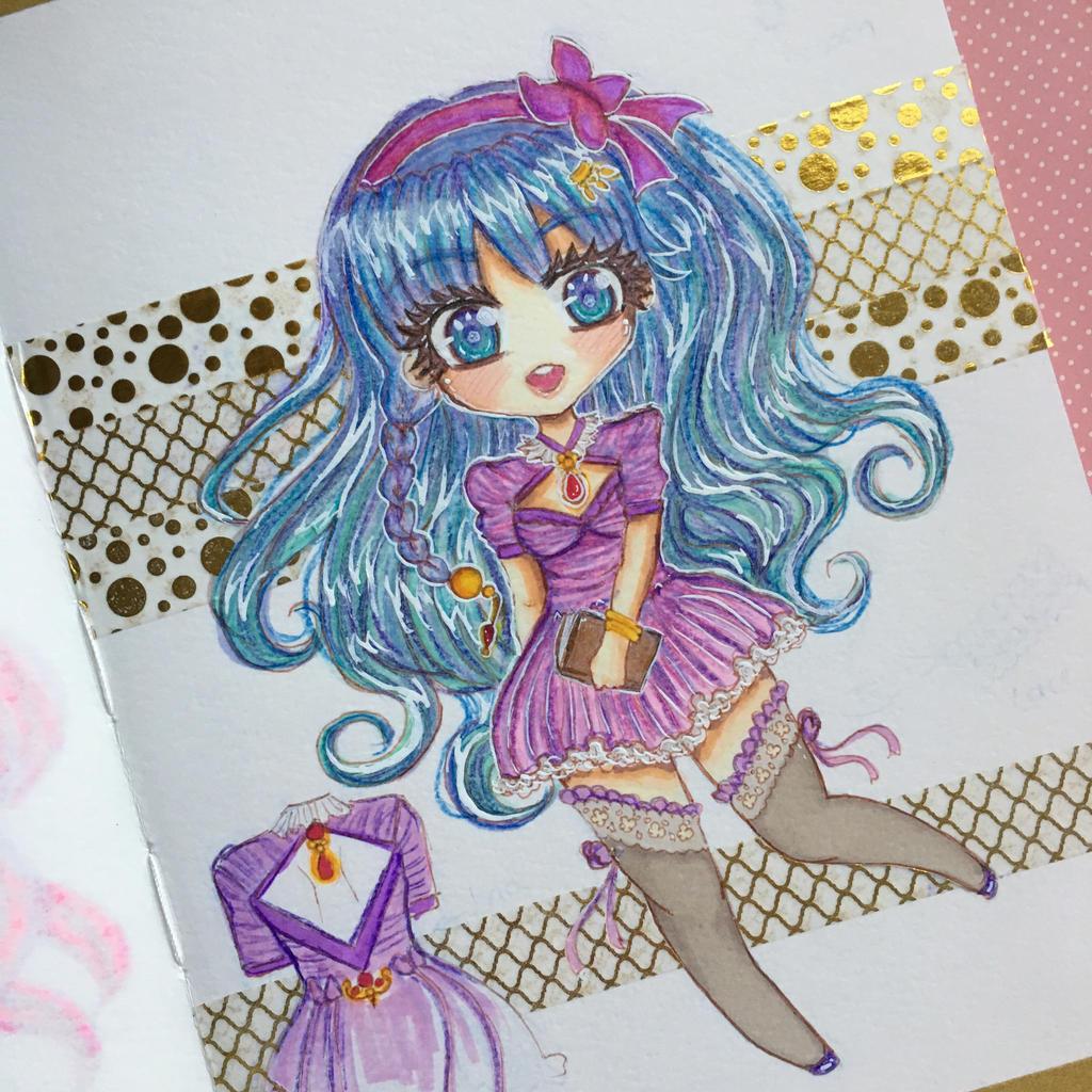Adopt: Sweet Aoi tradi by ichiipanpan