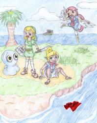 Wind Waker Girls' Adventure by Rika-Roth