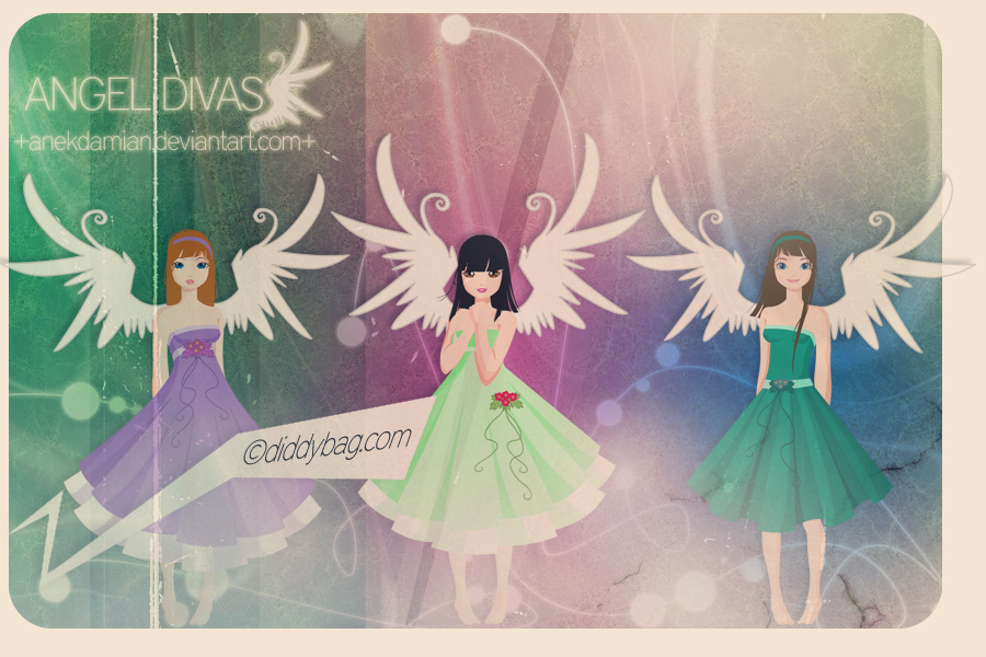 Angel Divas by anekdamian