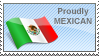Proudly Mexican Stamp by anekdamian