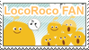 LocoRoco Fan Stamp by anekdamian