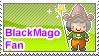 BlackMago Fan Stamp by anekdamian