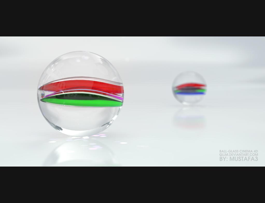 Ball Glass CINEMA 4D by QllM