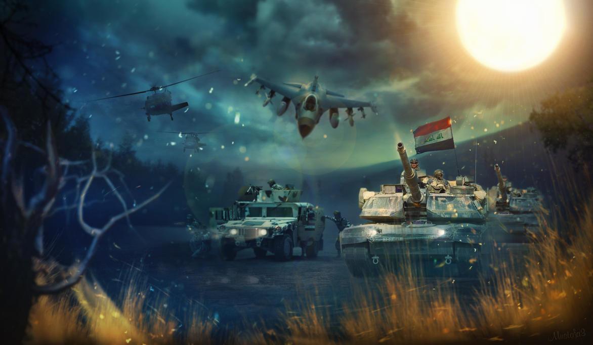 Iraq army by QllM