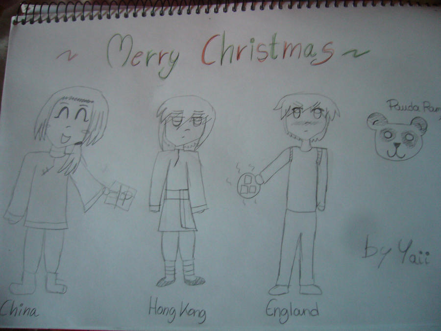 Merry Christmas Hetalia by Yaii-Chan