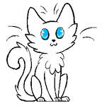 Free Cat Lineart :3
