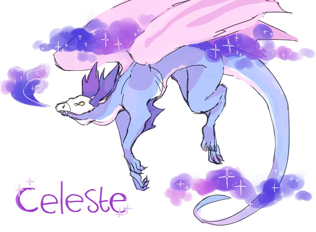 Celeste by VelociraptorCupcake