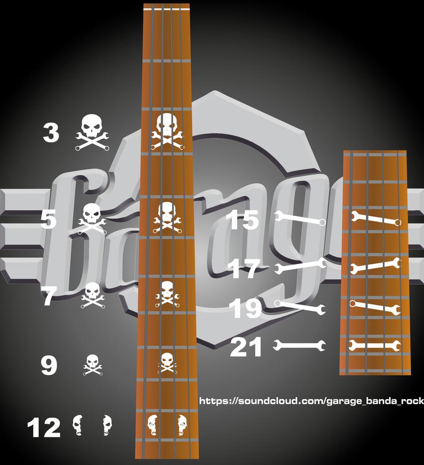 Puntos Guia (Bass Guitar - Garage Band) by Darmbass