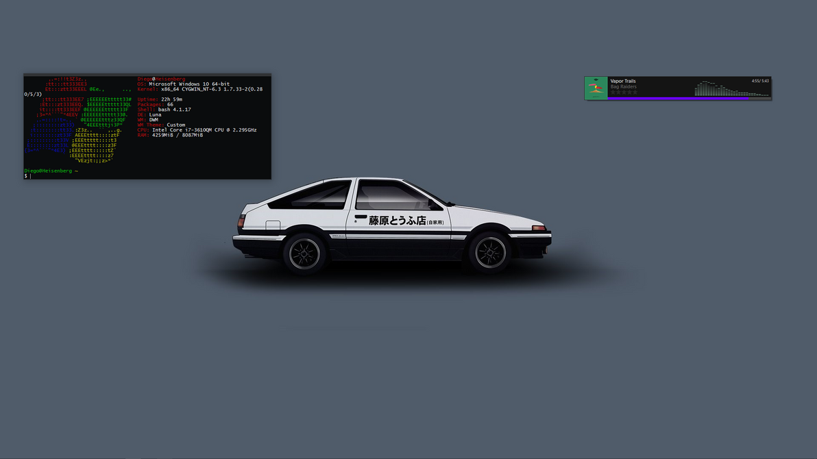 Windows 10 - AE86 by djlatino