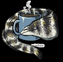 Snowflake Eel Loves Coffee