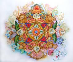 OM Mandala by MistressAlina
