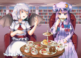 tea time! by white-pepper9