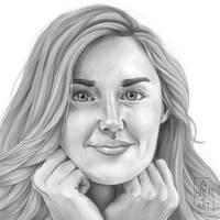 Ashley Johnson by bren-art