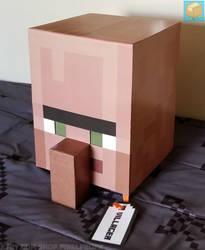 Classic Villager Head ~ Etsy by UDontNoJak