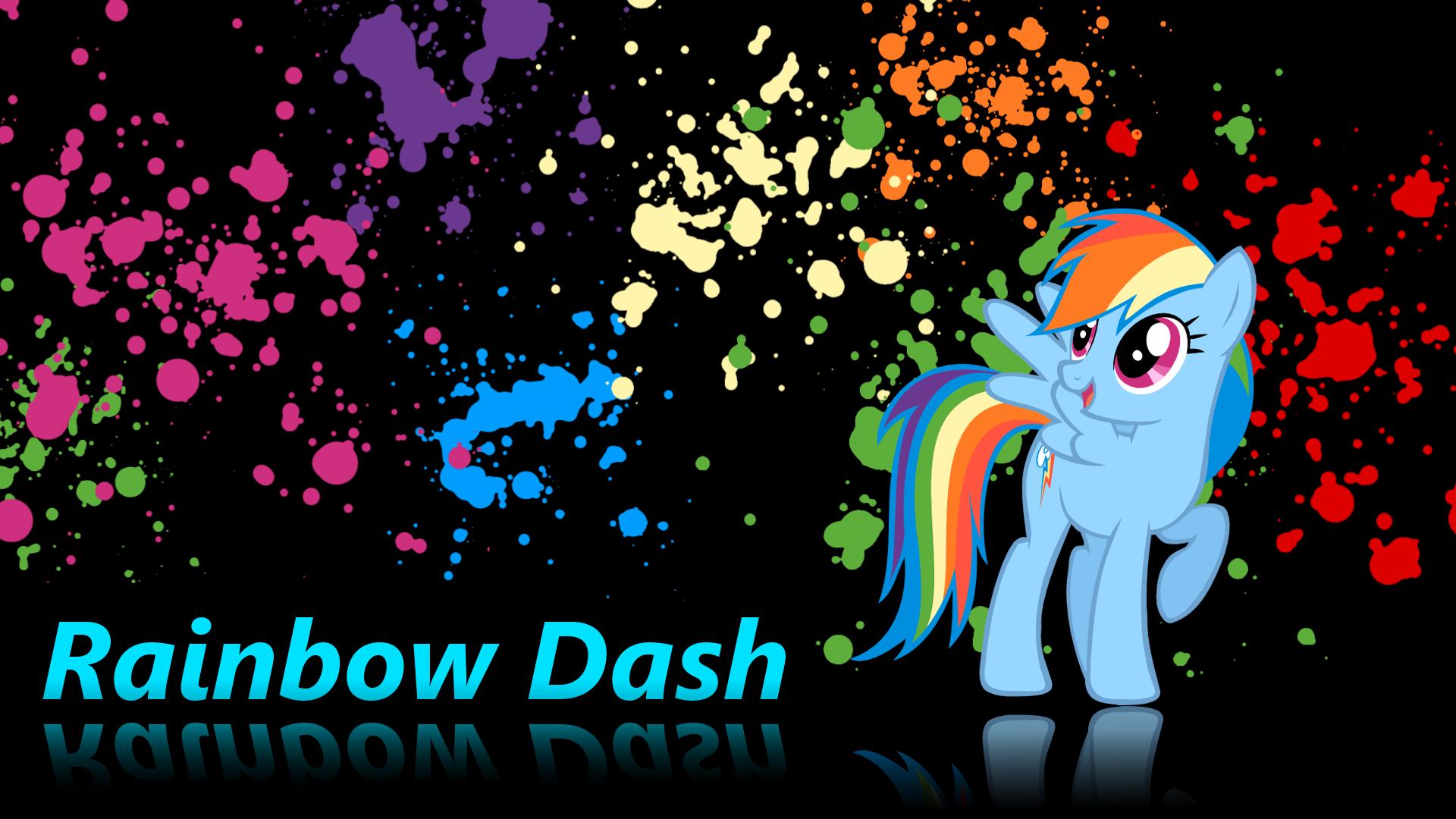 Rainbow Dash wallpaper v.2 by XVanilla-TwilightX