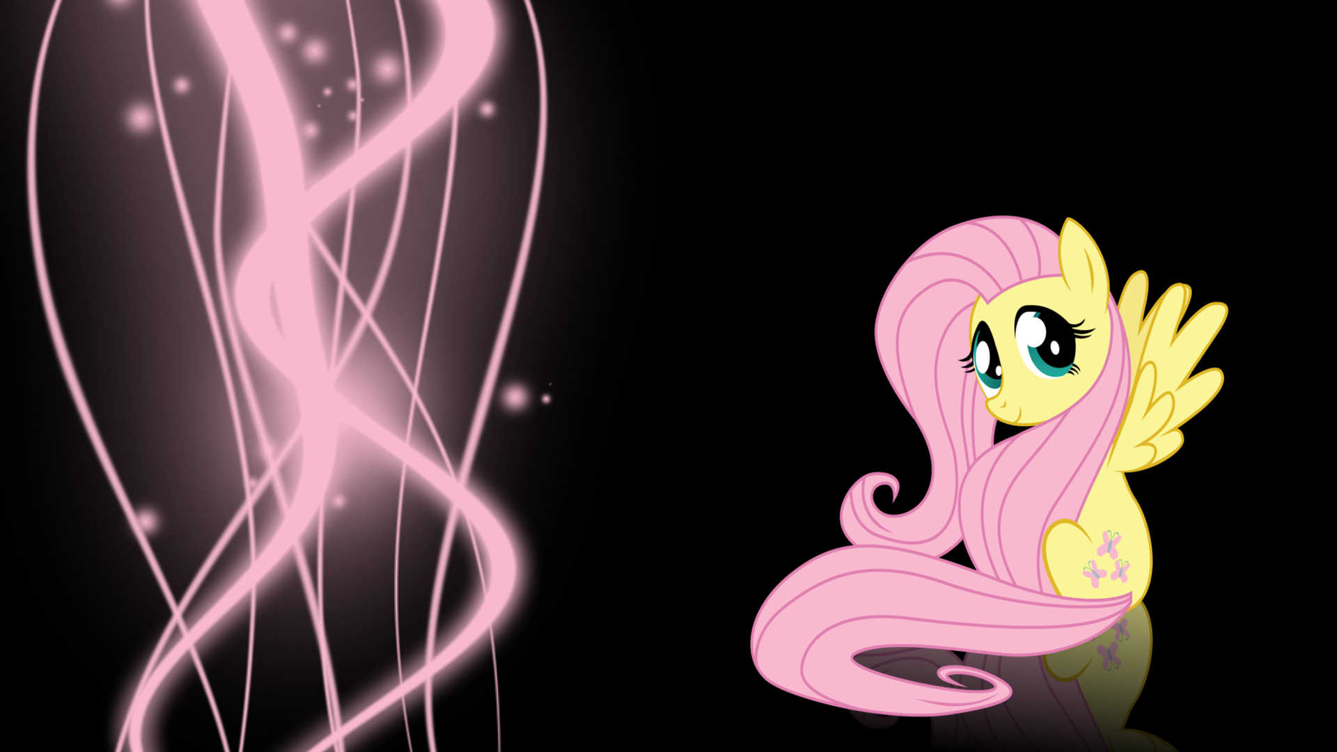 Fluttershy wallpaper 2 by XVanilla-TwilightX