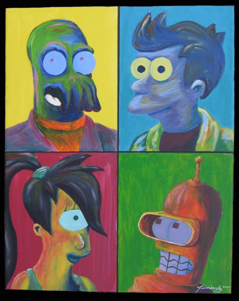 Futurama Four by tanzerin37