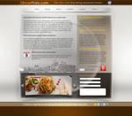 web design interface