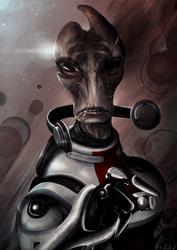 Mordin Solus by Fluseic