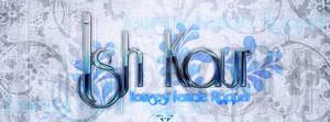 Ish Kaur Logo Facebook Cover